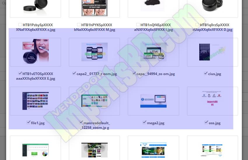 Image Manager Multiple Insert Produt