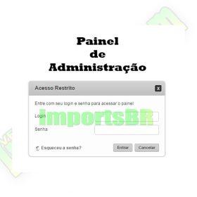Site empresarial institucional administrável