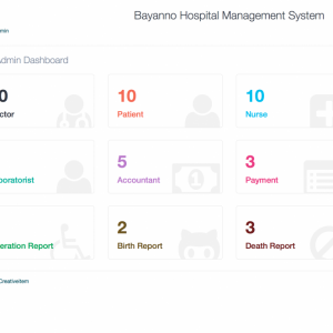 Bayanno Hospital Management System clinica