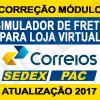 Módulo Correios Loja Virtual Interspire Atualizado 2018