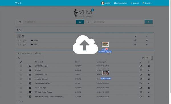 Veno File Manager - hospedar e compartilhar arquivos