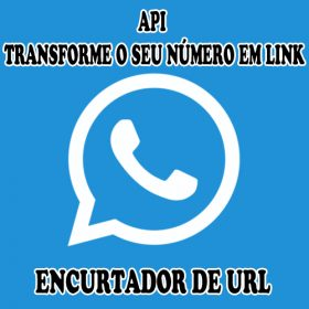 WhatsApp e gerador de link curto