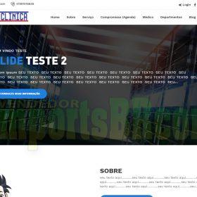 System Clinica Sistema para hospitais médicos e consultórios