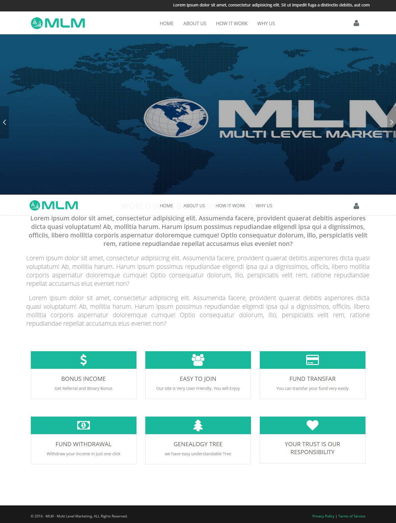 MMN MLM - Sistema de Marketing Multinível