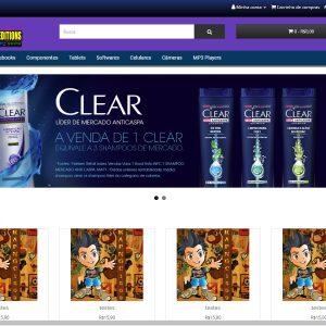 Loja virtual OpenCart3 completa pronta para iniciar suas vendas
