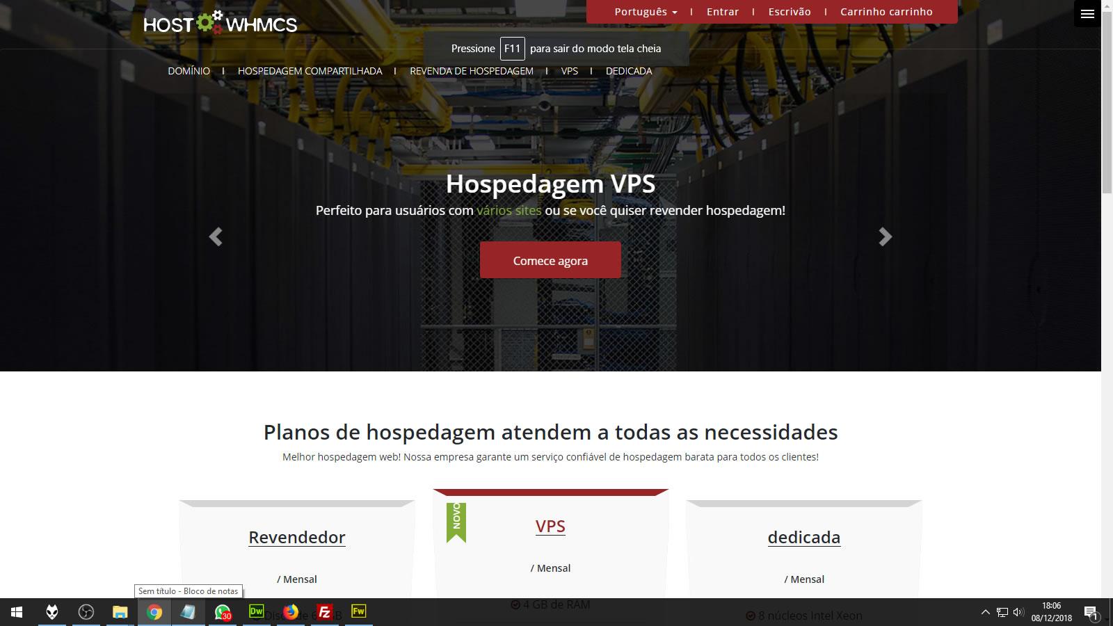 Template Whmcs AKTop 7x