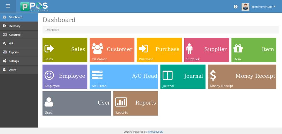 Sistema Contabilidade - Ponto de venda (POS) com sistema de contabilidade
