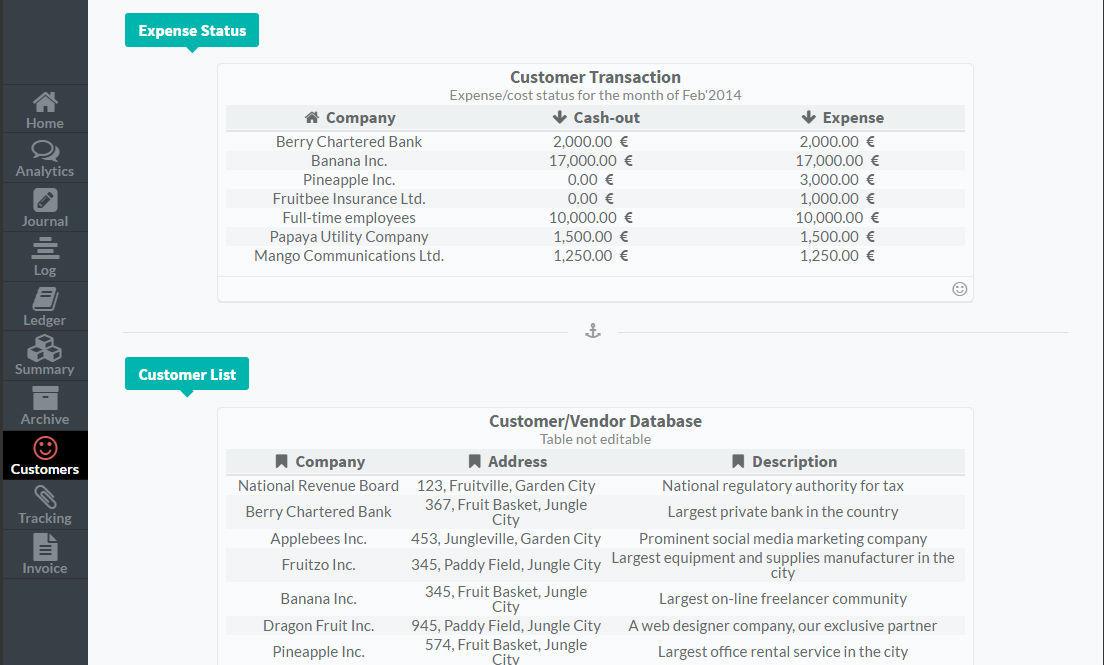 Sistema Contabilidade - Runa Financials