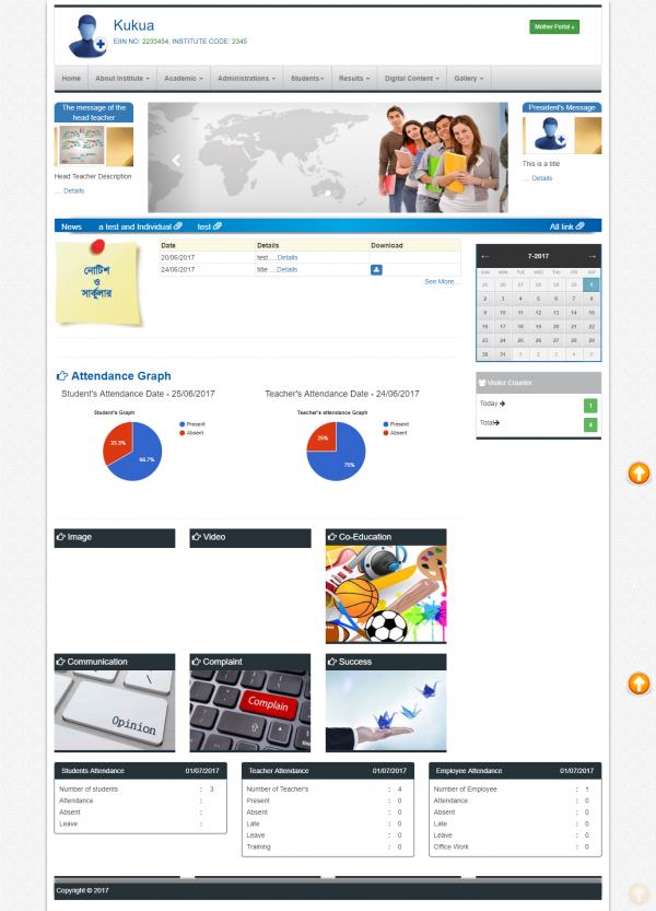 Sistema Escola - Cloud Base Multiple School Gerar e Sistema de Gestão