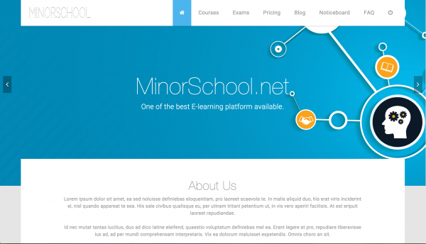 Sistema Escola - Sistema de Gestão de Aprendizagem para Escolas Secundárias - LMS