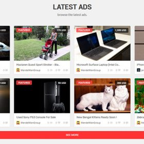 Classificados de anúncios - EVEREST PHP
