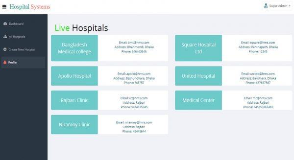 Sistema Hospital - Multi Hospital - Sistema de Gestão Hospitalar