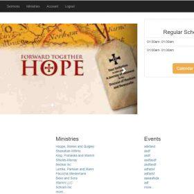 Sistema Igreja - Sistema de Gerenciamento de Conteúdo da Igreja - CCMS