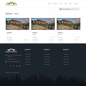 Agencia Imobiliária - Listagem de imóveis e propriedades A1 Script