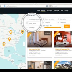 Agencia Imobiliária - Booksi - Property & Gestão de Aluguel de Férias CMS Script