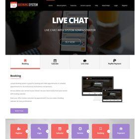 Agencia Imobiliária - Sistema de Reservas Laravel com Live Chat - Calendário de Reservas de Compromissos