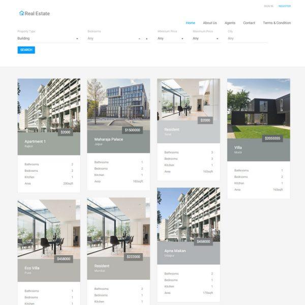 Agencia Imobiliária - Imóveis EcoDevs Script
