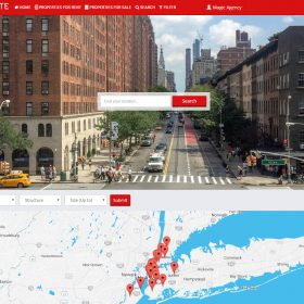Agencia Imobiliária - Propriedade mágica - portal dos bens imobiliários Script