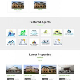 Agencia Imobiliária - Portal da propriedade