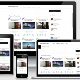Agencia Imobiliária - Propriedade real - Um sistema completo de portal imobiliário