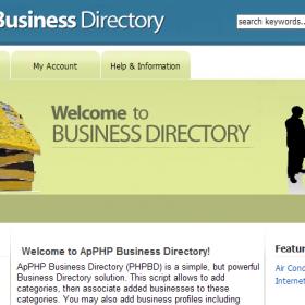 Classificados de anúncios - Listagens de Empresas PHP Script de Diretório Classificado