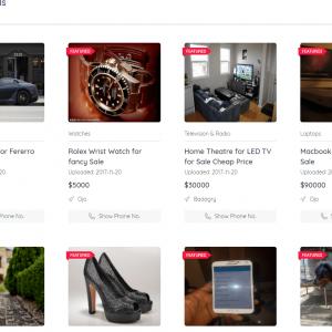 Classificados de anúncio - MokoClassified | Anúncios avançados de compra / venda CMS Script