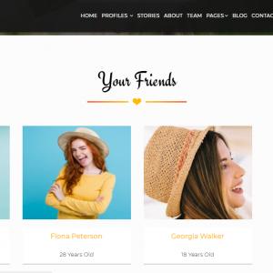 Site Namoro - Cupid Love Dating Aplicação Web