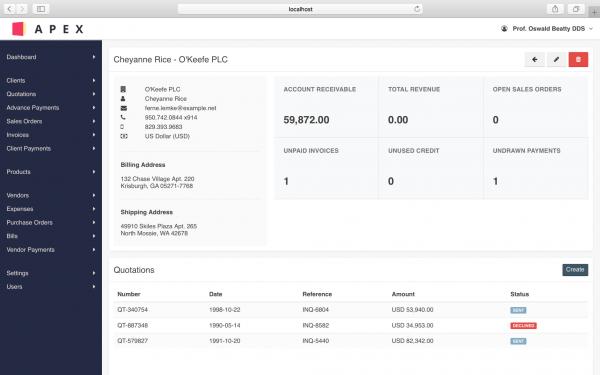 PDV Online - Apex - Solução de Vendas, Compra e Faturamento