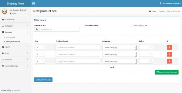 PDV Online - Sistema de gerenciamento de agente de vendas (SAMS)