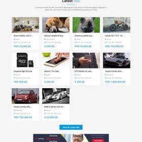 Classificados de anúncios - Listagem Post e Buy Script