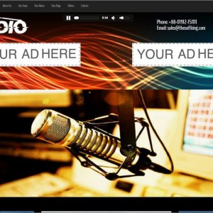 Script Radio - Streamo - Rádio Online e TV Streaming CMS