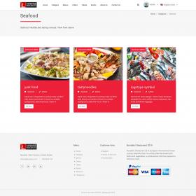Script Restaurante - Noodels Restaurant Script com CMS