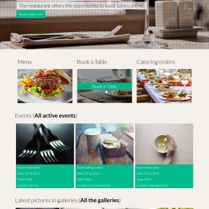 Script Restaurante - phpRestaurant - Restaurante com CMS