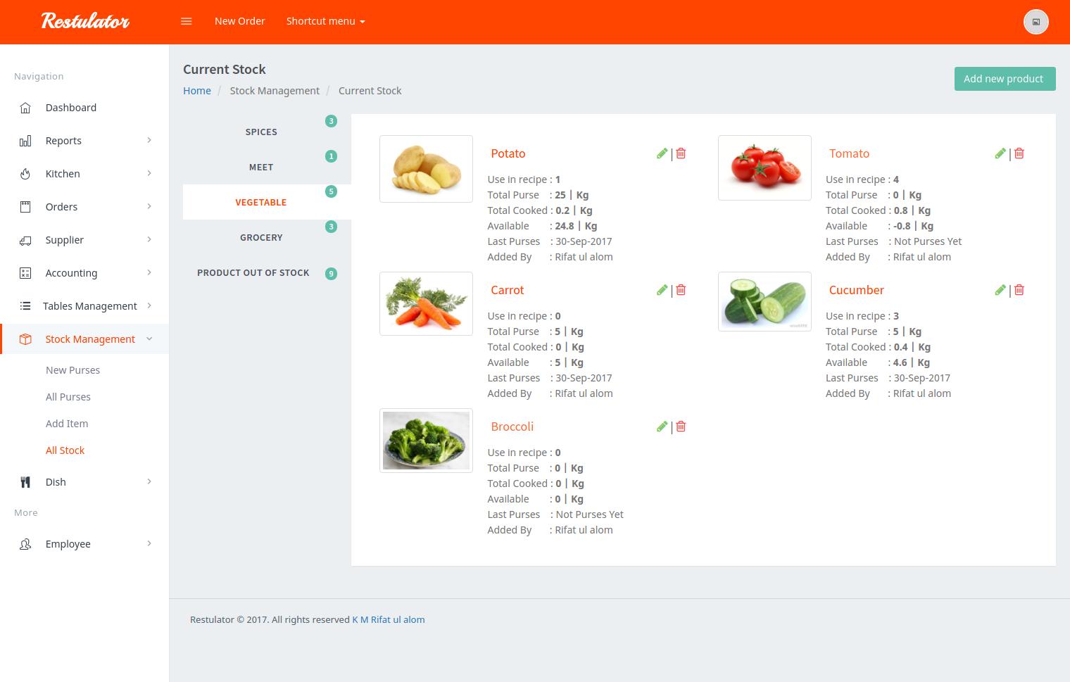 Script Restaurante - Restulator - Sistema de Gestão de Restaurantes no Laravel 5.5 com Pusher e jQuery