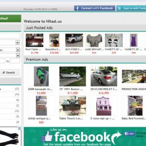 Classificados de anúncios - Site locais Script
